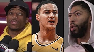 "Anthony Davis LEAVING LA ""Im Going To THE KNICKS If I Lose THIS YEAR""& LAKERS CLASH +Derozan SIGNING"