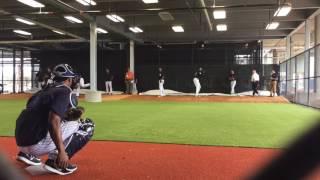 Yankees closer Aroldis Chapman throws 1st bullpen of 2017
