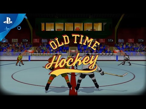 Old Time Hockey Video Screenshot 1