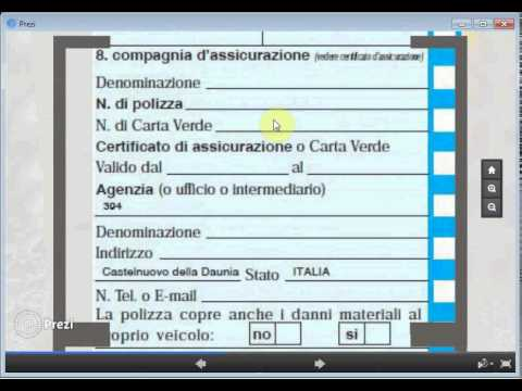Modulo CAI - Come compilare la Constatazione Amichevole di Incidente