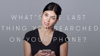 100 People Tell Us the Last Search on Their Phone | Keep it 100 | Cut