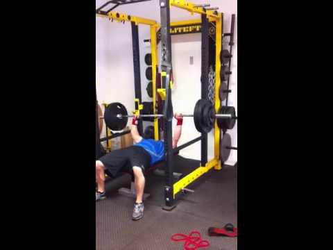 Joe R. 280 lbs Dead Stop Bench