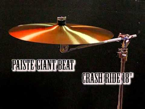 "Paiste Giant Beat Crash Ride 18"""