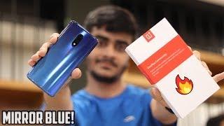 OnePlus 7 Mirror Blue Unboxing & Comparison (Mirror blue vs Red vs Mirror Grey)