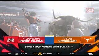 No. 23 Louisiana vs No. 21 Texas Football Highlights