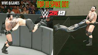 Randy Orton Extreme Spike DDTs - WWE 2K19 Top 10