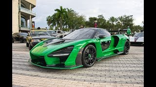 McLaren Senna 4.0-liter V8 and 789 hp BEAST - Supercar Game Changer - Closer Look Interior Exterior