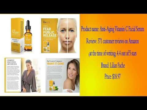 Best vitamin C serum reviews | Best vitamin C serum reviews 2018