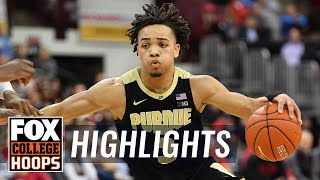 Carsen Edwards hits 8 threes as No. 19 Purdue beats Penn State in OT | FOX COLLEGE HOOPS HIGHLIGHTS