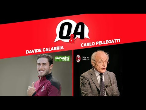 CARLO PELLEGATTI INTERVISTA DAVIDE CALABRIA