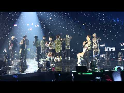 140601 EXO - Dream Girl + Ring Ding Dong (SHINee) @ THE LOST PLANET Concert in Hong Kong