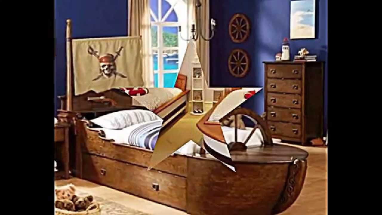 originelle m bel f r kinderzimmer 12 ideen f r kapit n. Black Bedroom Furniture Sets. Home Design Ideas