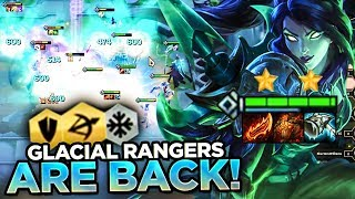 PERMAFREEZE GLACIAL RANGERS ARE BACK! | Teamfight Tactics