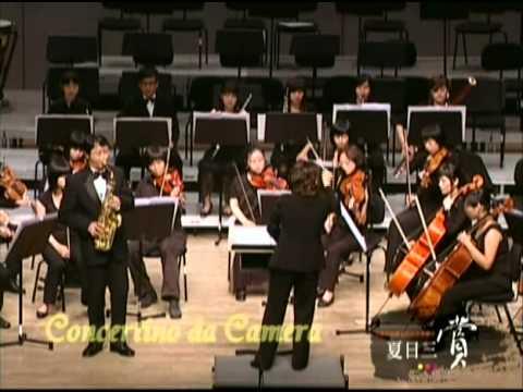 J.Ibert Saxophone Concertino da Camera