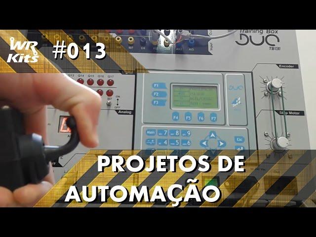 CONTROLE DE MOTOR POR ENTRADA ANALÓGICA CLP ALTUS DUO | Projetos de Automação #013