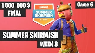 Fortnite Summer Skirmish Week 8 Day 4 Grand Final Game 6 Highlights PAX WEST