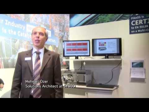 SYSGO presenting Railway application demo system at Embedded World 2015