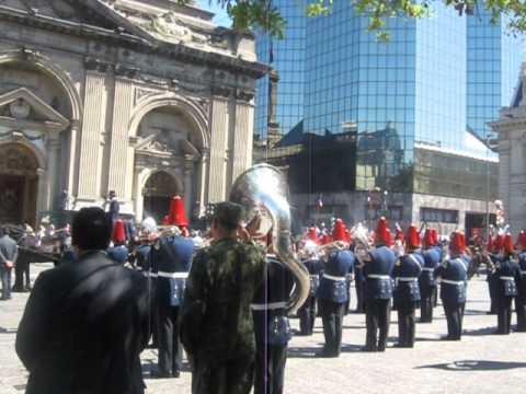 Escuela Militar - Himno Nacional de Chile