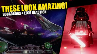 Squadrons and Lego Star Wars Both Look INCREDIBLE!! -- New Trailer Reactions