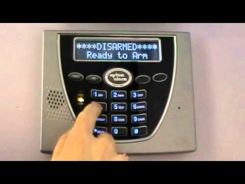 Custom Alarm Arm To Away Vista Panel