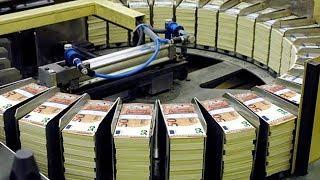 Amazing Money Print Technology - 50 Euro Note Print Process
