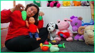 ÖZLEM ALİŞE SEBZELERİ ÖĞRETİYOR l Learn Vegetables With Özlem For Kids l Educational Video