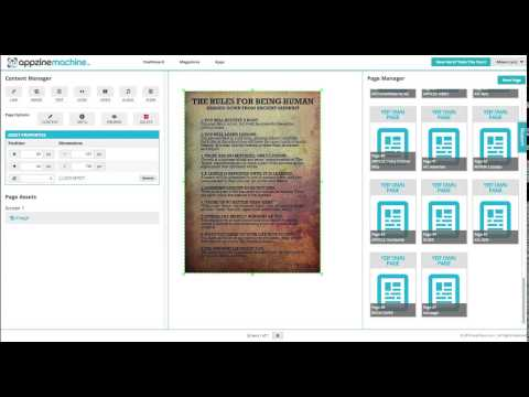 AZM Live Platform Walkthrough