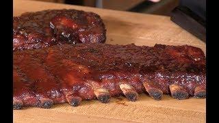 Smoked Brown Sugar Applewood BBQ Spare Ribs Recipe! | Best Ribs!