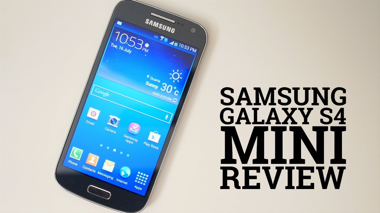samsung galaxy s4 mini review youtube. Black Bedroom Furniture Sets. Home Design Ideas