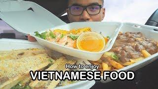 How to enjoy VIETNAMESE FOOD *MUKBANG