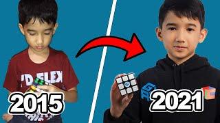Evolution of Leo Borromeo (2015-2021) - Rubik's Cube