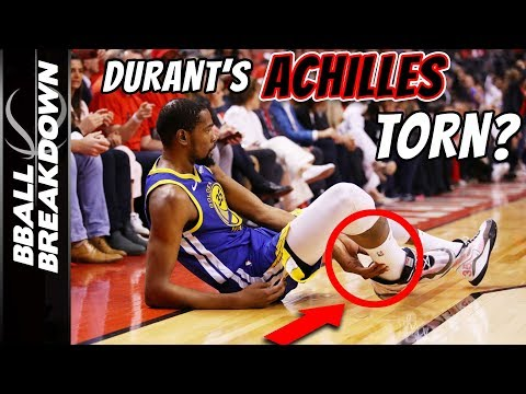 Kevin Durant Devastating ACHILLES INJURY Explained
