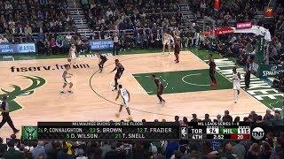 Jeremy Lin All Play Time 05/17/19 Toronto Raptors vs Milwaukee Bucks Game 2