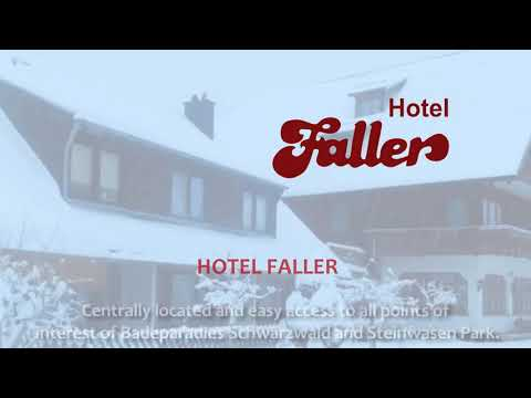 WELCOME TO HOTEL FALLER