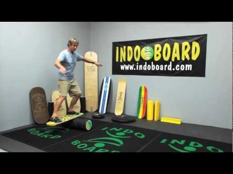 Video INDOBOARD Balance board MINIPRO PACK CLASSIC SURF