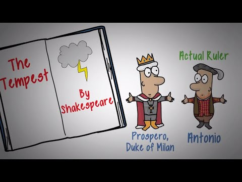 THE TEMPEST BY SHAKESPEARE - ANIMATED PLAY SUMMARY