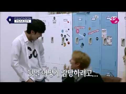 PENTAGON Funny Clip #41   Yeo One imitates Cube's Vice CEO