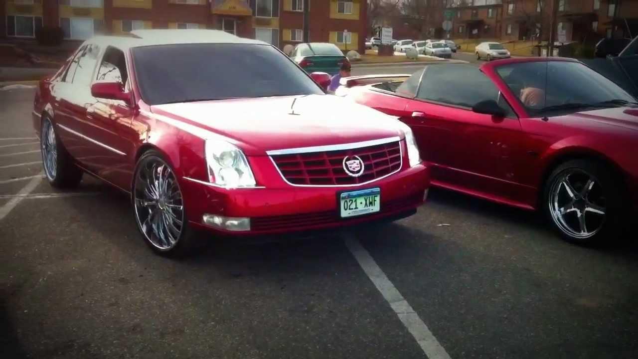 Cadillac On 24s