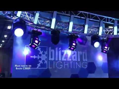 Blizzard Lighting Booth - InfoComm 2016