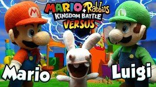 ABM: Mario vs Luigi !! Mario+Rabbids Kingdom Battle Gameplay Match!! HD