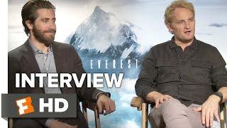 Everest Interview - Jason Clarke and Jake Gyllenhaal (2015) - Elizabeth Debicki Adventure Movie HD
