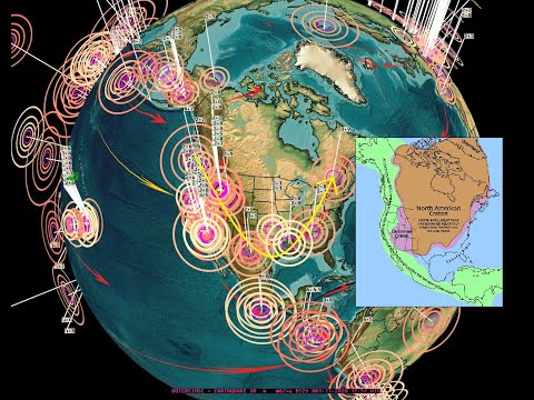 5/11/2020 -- Large Earthquake due -- West Pacific unrest - California spread of activity across USA