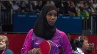 Women's Table Tennis Singles Preliminary Round - Brazil v Djibouti | London 2012 Olympics