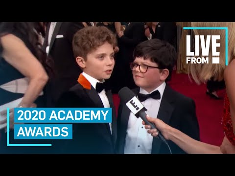 "Watch ""Jojo Rabbit"" Stars' Adorable Argument at 2020 Oscars 