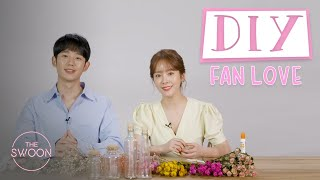 Han Ji-min and Jung Hae-in make spring flower jars for fans | DIY Fan Love [ENG SUB]