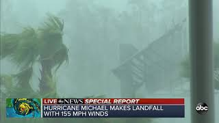 VIDEO: Hurricane Michael makes landfall as Category 4 storm
