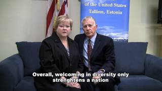 Judy and Dennis Shepard Address the Parents of Estonia