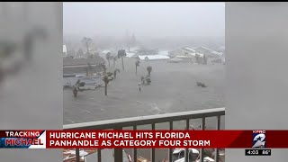 Hurricane Michael hits Florida Panhandle as Category 4 storm