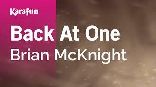 /karaoke back at one brian mcknight