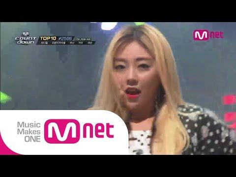 Mnet [엠카운트다운] Ep.391 : 레이디스 코드(LADIES' CODE) - KISS KISS @MCOUNTDOWN_140828